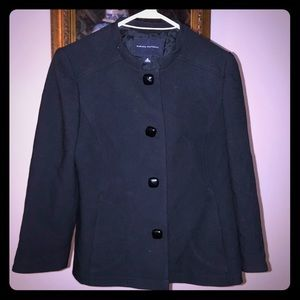 Banana Republic Black Wool Jacket.